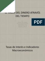 EL VALOR DEL DINERO ATRAVÉS DEL TIEMPO