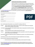 Executive Nomination Letter