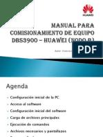 Manual para comisionamiento de equipo DBS3900 – NODE B - HUAWEI (FESS)