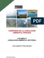 Compendio Legislacion Ambiental Nacional PERU
