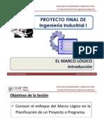 T1.1 - PFII I - USMP - Marco Lógico - Introducción