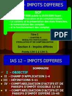 SCF-IMPOTS-DIFFERES
