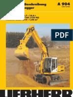 Technische Beschreibung Hydraulikbagger Einsatzgewicht 16,7 – 19,6 t Motorleistung