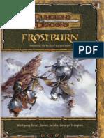 D&D Book - Frostburn