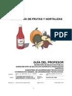 Manual de Frutas y Hortalizas