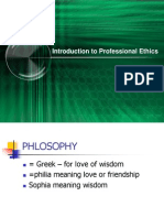 Topic 1-Introduction to Professional Ethics