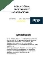 DIAPOSITIVAS SESIÓN 3COMPORTAMIENTO ORGANIZ