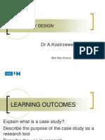 Case Study Design 2013 L7