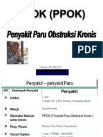 FTT PPOK Dr. Ediyono