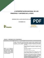 Documento Final in PC RSPO Noviembre 2010