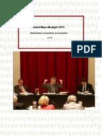 Saint-maur Budget 2013
