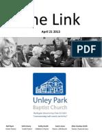 The Link April 21 2013