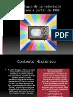 Cronología de la televisión mexicana a partir de
