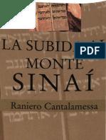 Cantalamessa Raniero - La Subida Al Monte Sinai