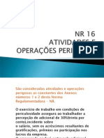APRESENTAÇÃO - NR 16