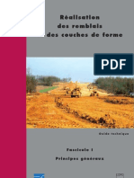 Guide Des Terrassements Routier GTR