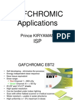 8b Prince Kiryaman GAFCHROMIC Applications
