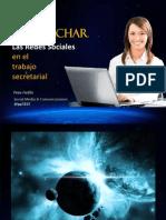 Cómo aprovechar las redes sociales en el trabajo secretarial - Pepe Farfán