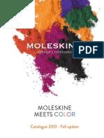 Moleskine Fall 2013 Catalog