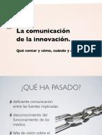 La comunicación de la innovación