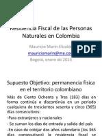 Nuevoconcepto Residenciafiscal Impactos Nacionales Extranjeros MauricioMarin