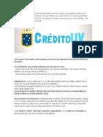 Crédito UV (CUV2013)