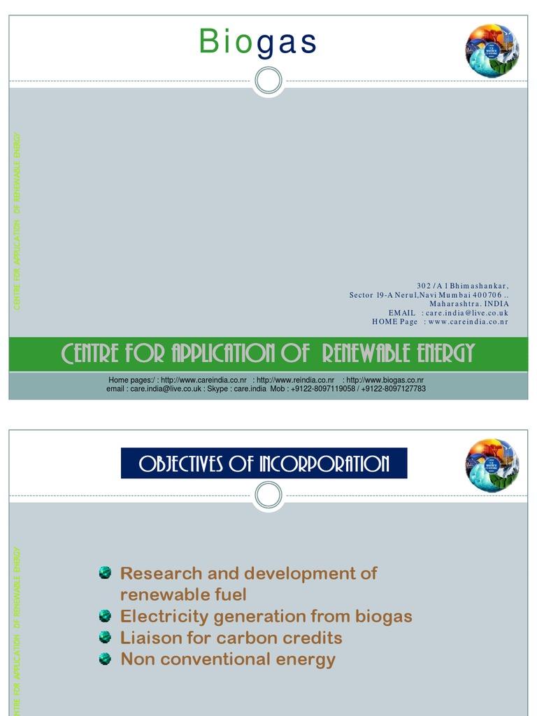 Understanding Biogas Ver 1.1 | Anaerobic Digestion | Renewable Resources