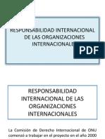 4 Responsabilidad Internacional de Las Organizaciones Internacionales