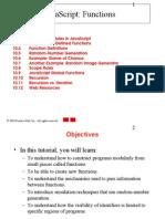 Java Script Functions - notes