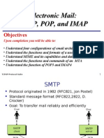 Smtp POP3 IMAP protocol notes