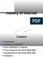 Histroy of Internet