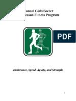Manual Soccer Fitness Program