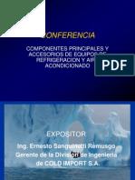 Componentes Principales de Sistema de Refrigeracion