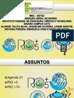 Agenda 21, Rio 5, Rio 10, Rio 20
