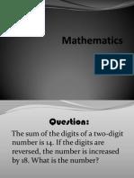 Mathematics Different Stretegies3