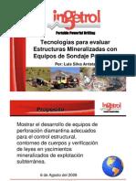 13.- Tecnologia Para Evaluar Estructuras Mineralizadas Con Equipos de Sondaje Portatiles