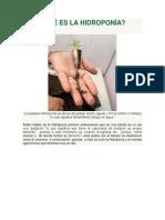 1-Hidroponia