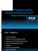 The SWOT Analysis and the Solution of Indonesian SIAP