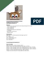 Rudolph the Reindeer Crochet Hat Pattern