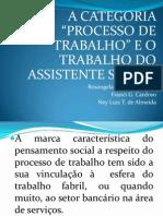 Processo de trabalho e Serviço Social