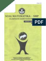 Osn Matematika Smp 2013 Tk Kab