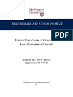 Fourier Transforms of Generalized 