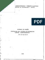 NT-DV-00-03-07 Normas de diseño Proteccion del sistema de dis