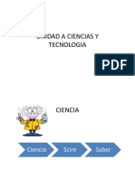 1.1 Ciencia y Tecnologia