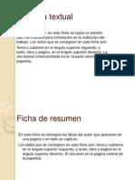 Ficha de Cita Textual