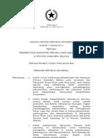 UU No. 7 tahun 2013 tentang Pembentukan Kabupaten Penukal Abab di Sumatera Selatan