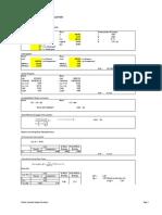 Tubular Member Design Calculation