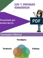 2.1 - Modelos y Enfoques Pedagógicos (Presentación)