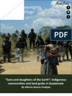 Land & Sovereignty in the Americas 2013
