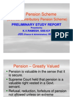 New Pension Scheme in Comparison to Old Pension Scheme